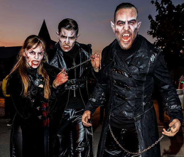 Vampire aka Shadows bei den Horror Nights – Traumatica 2018 zur Halloweenzeit im Europa-Park
