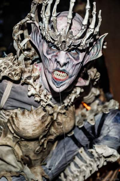 Ghoul Queen bei den Horror Nights – Traumatica 2018 zur Halloweenzeit im Europa-Park