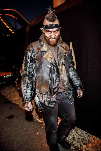 Furchteinflößende Gestalten bei den Horror Nights – Traumatica 2018 zur Halloweenzeit im Europa-Park