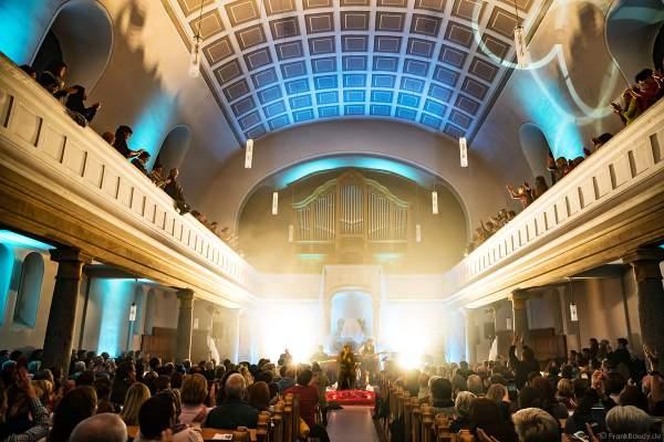 CHURCH IN COLORS mit Oliver Dums, Marcus Rutz-Lewandowski, Daniel Zäpfel, Holger Schell und Kai Rogowski in der Prot. Kirche Böhl am 28. Oktober 2018