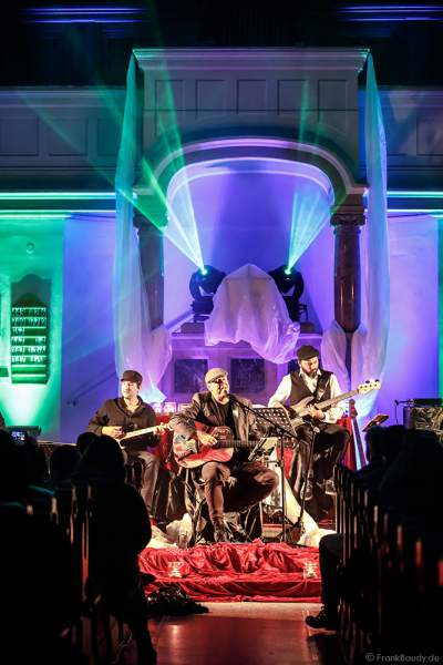 Konzert CHURCH IN COLORS mit Sänger Oliver Dums am 28. Oktober 2018 in der Prot. Kirche Böhl