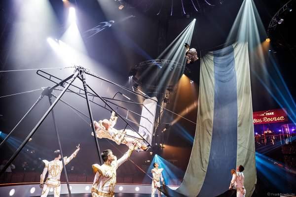I-Team - Russische Schaukel bei der Zirkus Revue im Europa-Park zur Wintersaison 2018/2019