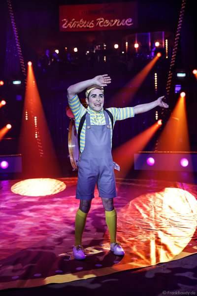 Matute Alvarez bei der Zirkus Revue im Europa-Park zur Wintersaison 2018/2019