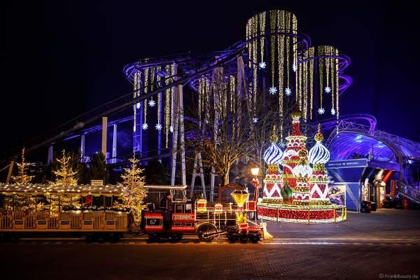 Tausende Lichter erleuchten den Europa-Park in der Wintersaison 2018/2019