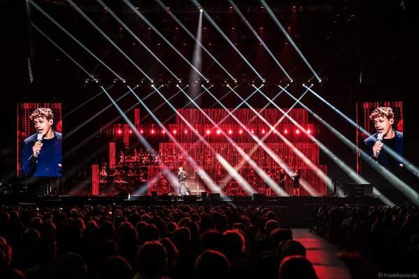 Tim Bendzko bei Night of the Proms 2018 in der SAP Arena Mannheim
