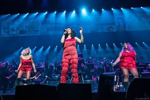 Die Pointer Sisters bei Night of the Proms 2018 in der SAP Arena Mannheim