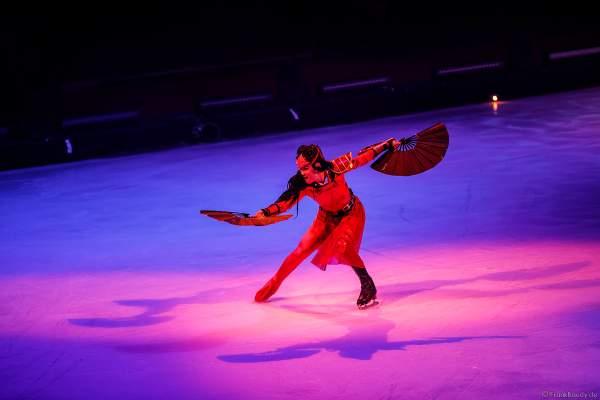 Eiskunstläuferin Tippy Packard bei der Eisshow SHOWTIME von Holiday on Ice in der Festhalle Frankfurt und SAP Arena Mannheim 2018-2019