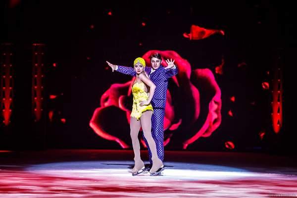 Alexey Rogonov und Alina Ustimkina bei der Eisshow SHOWTIME von Holiday on Ice in der Festhalle Frankfurt und SAP Arena Mannheim 2018-2019