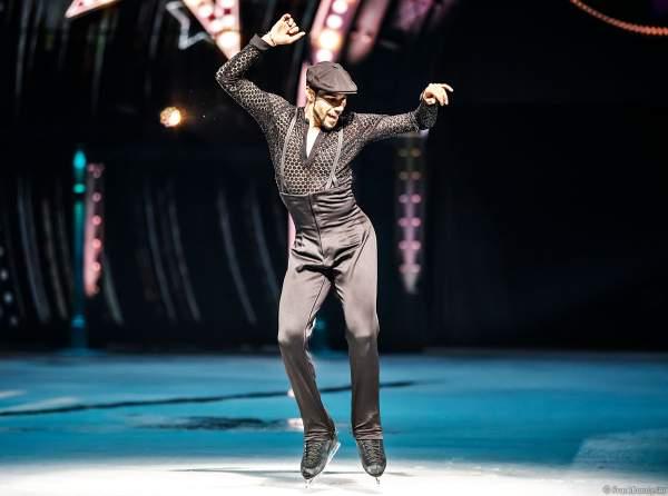 Eiskunstläufer Rohene Ward bei der Eisshow SHOWTIME von Holiday on Ice in der Festhalle Frankfurt und SAP Arena Mannheim 2018-2019