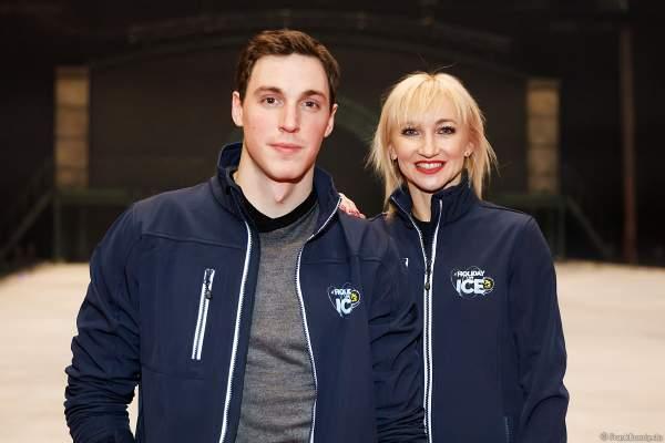 Paarlauf-Olympiasieger Aljona Savchenko und Bruno Massot bei der Eisshow SHOWTIME von Holiday on Ice in der Festhalle Frankfurt und SAP Arena Mannheim 2018-2019