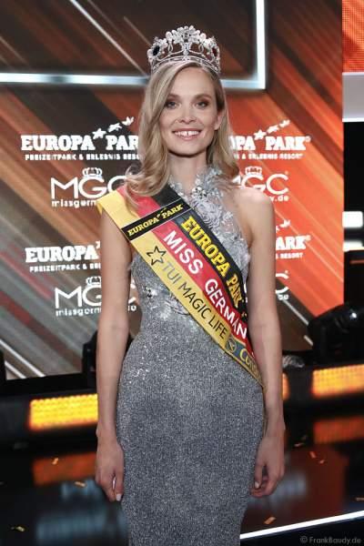 Nadine Berneis gewinnt die Wahl zur Miss Germany 2019 in der Europa-Park Arena am 23.02.2019