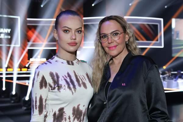 Natascha Ochsenknecht mit Tochter Cheyenne Savannah Ochsenknecht beim Miss Germany 2019 Finale in der Europa-Park Arena am 23.02.2019