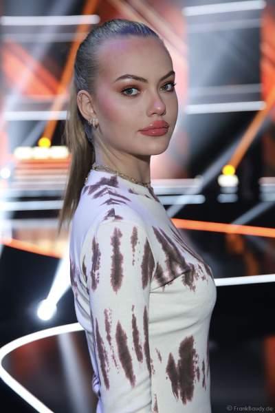 Cheyenne Savannah Ochsenknecht beim Miss Germany 2019 Finale in der Europa-Park Arena am 23.02.2019