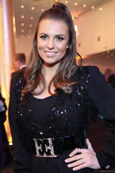 Moderatorin Laura Wontorra beim Finale der Miss Germany Wahl 2019 in der Europa-Park Arena am 23.02.2019