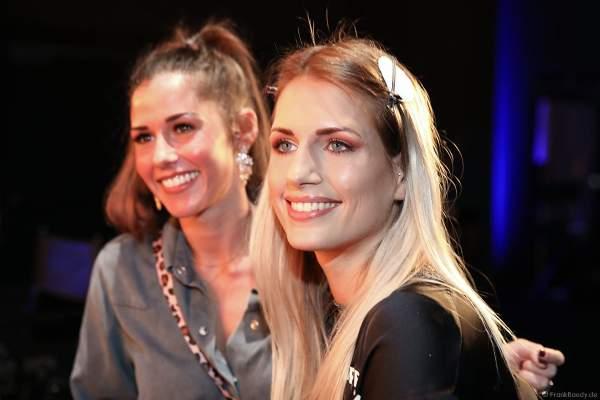 Sarah Lombardi besucht Miss Bremen 2018/19, Marianne Kock Backstage am Nachmittag bei den Vorbereitungen für das Miss Germany 2019 Finale in der Europa-Park Arena am 23.02.2019