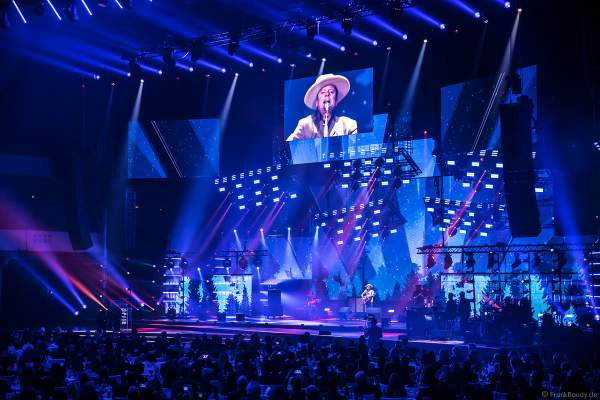 Konzert von Kiefer Sutherland beim PRG Live Entertainment Award (LEA) 2019 in der Festhalle in Frankfurt