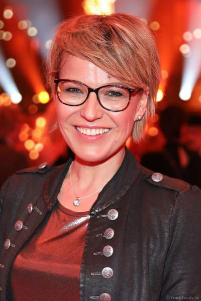 Andrea Ballschuh auf der After-Show-Party beim PRG Live Entertainment Award (LEA) 2019 in der Festhalle in Frankfurt
