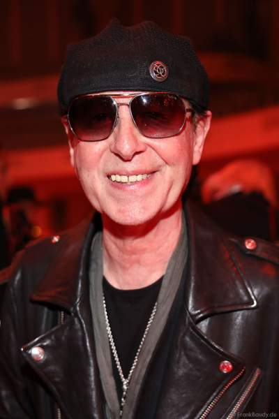 Klaus Meine, Sänger der Gruppe Scorpions auf der After-Show-Party beim PRG Live Entertainment Award (LEA) 2019 in der Festhalle in Frankfurt