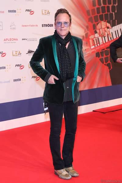 Kiefer Sutherland auf dem roten Teppich beim PRG Live Entertainment Award (LEA) 2019 in der Festhalle in Frankfurt