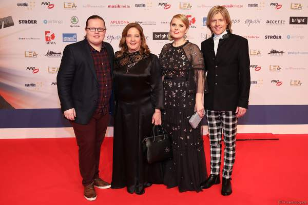 The Kelly Family beim PRG Live Entertainment Award (LEA) 2019 in der Festhalle in Frankfurt