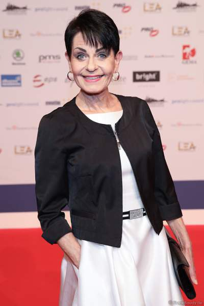 Sybille Nicolai beim PRG Live Entertainment Award (LEA) 2019 in der Festhalle in Frankfurt