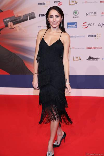 Roter Teppich beim PRG Live Entertainment Award (LEA) 2019 in der Festhalle in Frankfurt