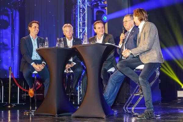 Familie Mack bei der Pressekonferenz zur Saisoneröffnung des Europa-Park 2019