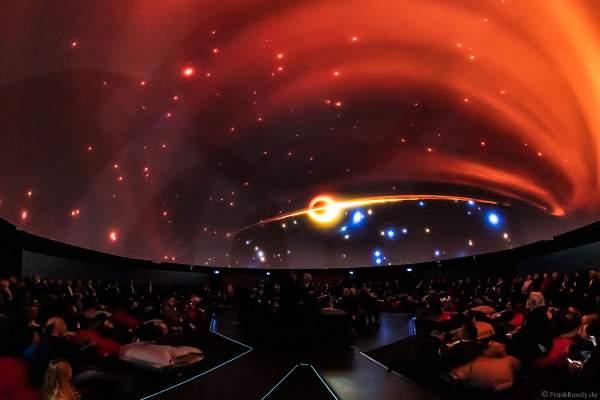 Filmabenteuer Mission Astronaut im 360 Grad-Kino TRAUMZEIT-DOME, Europa-Park 2019
