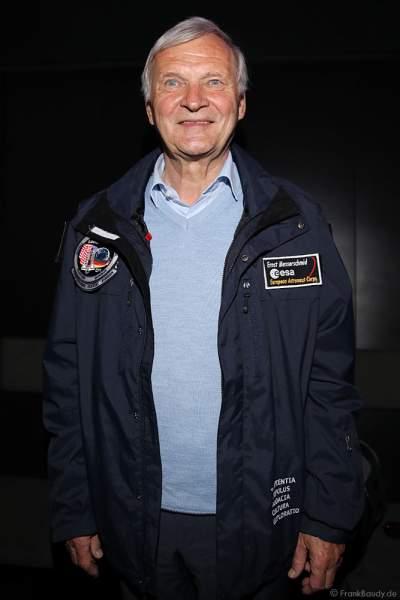 Deutscher Astronaut Ernst Willi Messerschmid bei MISSION ASTRONAUT im TRAUMZEIT-DOME, Europa-Park 2019