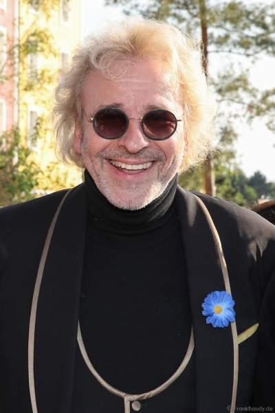 TV-Moderator Thomas Gottschalk bei der Eröffnungsfeier des neuen Themenhotel Kronasar im Europa-Park in Rust am 24.05.2019