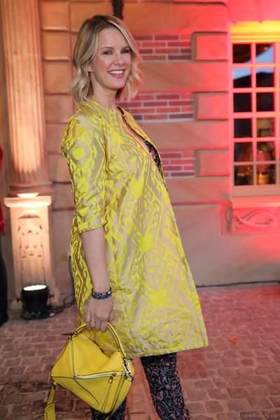Model Monica Meier-Ivancan bei der Eröffnungsfeier des neuen Themenhotel Kronasar im Europa-Park in Rust am 24.05.2019