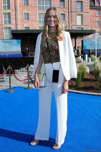 Miss Germany 2019 - Nadine Berneis bei der Eröffnungsfeier des neuen Themenhotel Kronasar im Europa-Park in Rust am 24.05.2019