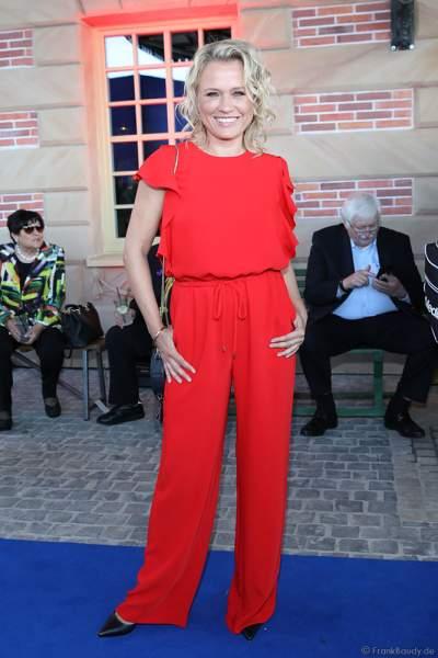 Nova Meierhenrich bei der Eröffnungsfeier des neuen Themenhotel Kronasar im Europa-Park in Rust am 24.05.2019