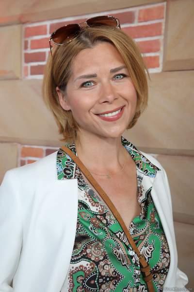 Eiskunstläuferin und Schauspielerin Tanja Szewczenko bei der Eröffnungsfeier des neuen Themenhotel Kronasar im Europa-Park in Rust am 24.05.2019