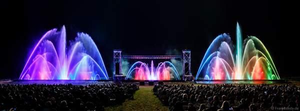 Inszenierung FOOT LEGEND beim Festival Vents d'Est 2019 mit Wassershow von Aquatique Show International