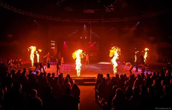 Eisshow THE TRAUMATICA SHOW mit Feuer bei den Horror Nights - TRAUMATICA 2019 im Europa-Park