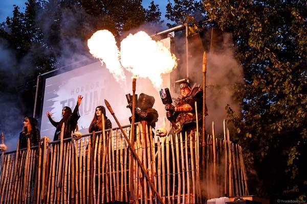 Der Eingang zu den Horror Nights - TRAUMATICA 2019 im Europa-Park