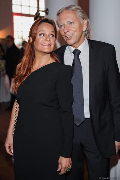 Andrea Berg mit Ehemann Ulrich Uli Ferber beim 70. Geburtstag des Europa-Park-Gründers Roland Mack am 12.10.2019 in Rust