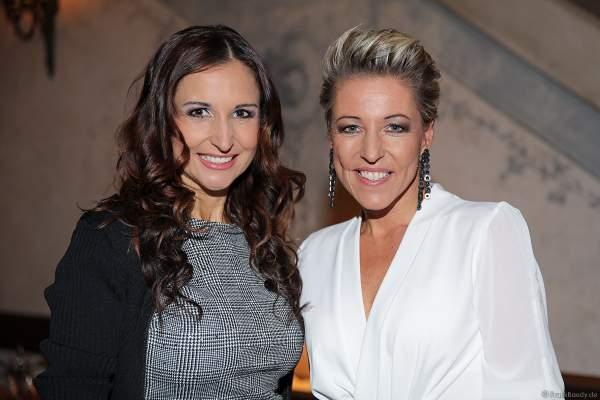 Anita und Alexandra Hofmann (Geschwister Hofmann) beim 70. Geburtstag des Europa-Park-Gründers Roland Mack am 12.10.2019 in Rust