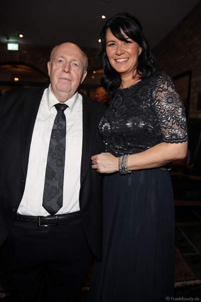 """Reiner """"Calli"""" und Ehefrau Sylvia Calmund beim 70. Geburtstag des Europa-Park-Gründers Roland Mack am 12.10.2019 in Rust"""