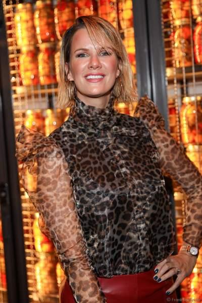 Model Monica Meier-Ivancan beim 70. Geburtstag des Europa-Park-Gründers Roland Mack am 12.10.2019 in Rust