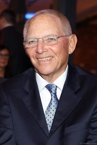Wolfgang Schäuble beim 70. Geburtstag des Europa-Park-Gründers Roland Mack am 12.10.2019 in Rust