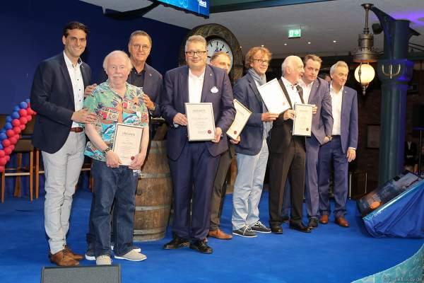 Auszeichnungen für die Planung und den Bau der Wasserwelt RULANTICA am 28. November 2019 im Europa-Park