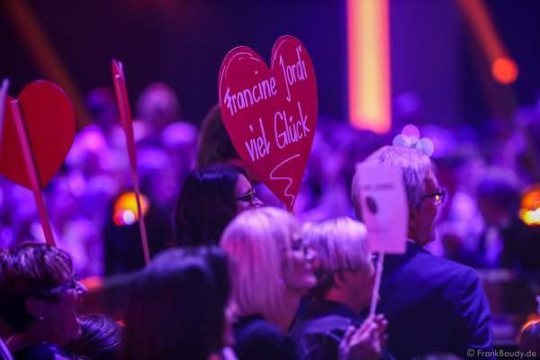 Fanclub Francine Jordi bei der Silvestershow 2019/2020 in der Baden-Arena - Messe Offenburg