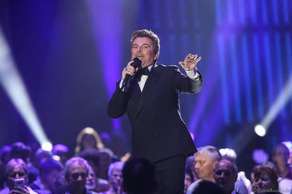 Thomas Anders bei der Silvestershow 2019/2020 in der Baden-Arena - Messe Offenburg
