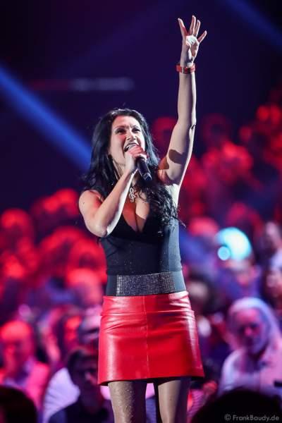 Antonia aus Tirol bei der Silvestershow 2019/2020 in der Baden-Arena - Messe Offenburg