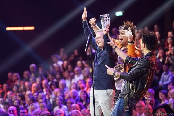 Die Ehrlich Brothers bei der Silvestershow 2019/2020 in der Baden-Arena - Messe Offenburg