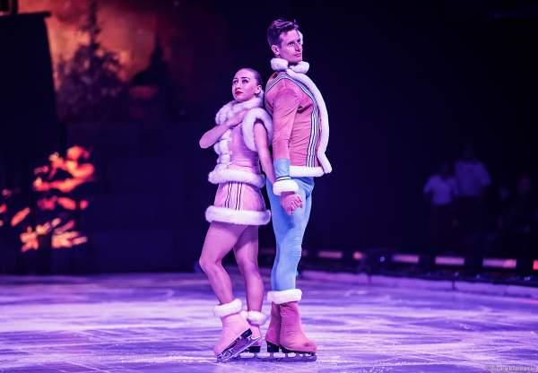 Wesley Campbell und Natalia Ogoreltseva bei der Eisshow SUPERNOVA von Holiday on Ice in der Festhalle Frankfurt und SAP Arena Mannheim 2019-2020