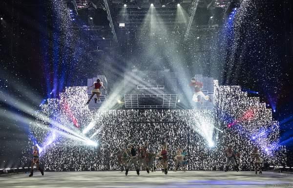 Schneesturm bei der Eisshow SUPERNOVA von Holiday on Ice in der Festhalle Frankfurt und SAP Arena Mannheim 2019-2020