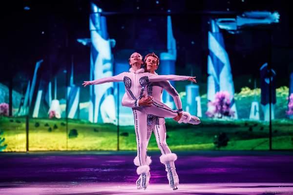 Aleksandra Bich und Ivan Bich bei der Eisshow SUPERNOVA von Holiday on Ice in der Festhalle Frankfurt und SAP Arena Mannheim 2019-2020